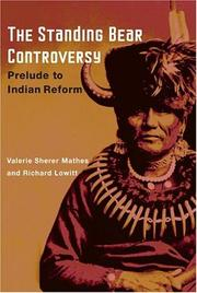 Cover of: The Standing Bear Controversy | Valerie Sherer Mathes