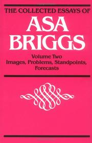 Cover of: COLLECTED ESSAYS VOL 2: Volume II: Images, Problems, Standpoints, Forecasts