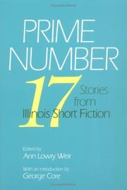 Cover of: Prime number |