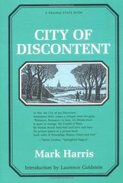Cover of: City of discontent