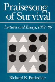 Cover of: Praisesong of survival