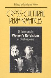 Cover of: Cross-cultural performances |