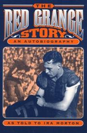 Cover of: The Red Grange story | Red Grange