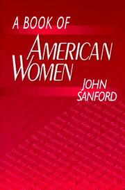 Cover of: A book of American women
