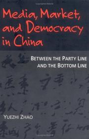 Cover of: Media, market, and democracy in China