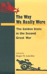 Cover of: The Way We Really Were