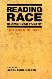 Cover of: Reading race in American poetry |
