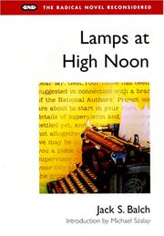 Cover of: Lamps at high noon | Jack S. Balch