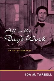 Cover of: All in the day's work