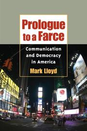 Cover of: Prologue to a Farce | Mark Lloyd