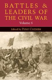 Cover of: Battles and Leaders of the Civil War, Volume 6 (Battles & Leaders of the Civil War)