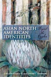 Cover of: Asian North American identities |