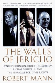 Cover of: The Walls of Jericho | Robert Mann