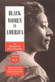 Cover of: Black Women in America |