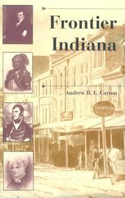 Cover of: Frontier Indiana