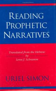 Cover of: Reading prophetic narratives