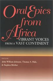 Oral Epics from Africa by