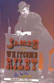 Cover of: James Whitcomb Riley