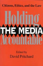 Cover of: Holding the media accountable |