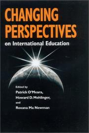 Cover of: Changing Perspectives on International Education |