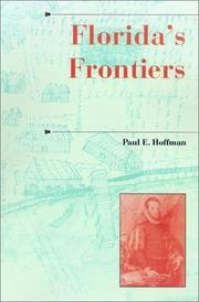 Florida's frontiers by Paul E. Hoffman