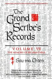 Cover of: Grand Scribes Records (Grand Scribe's Records)