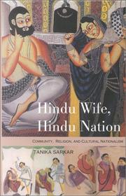 Cover of: Hindu wife, Hindu nation, community, religion, and cultural nationalism
