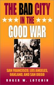 Cover of: The bad city in the good war