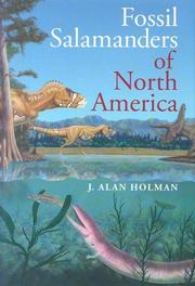 Cover of: Fossil salamanders of North America