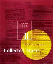 Cover of: Collected papers