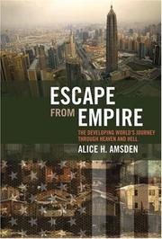 Cover of: Escape from Empire