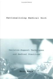 Cover of: Rationalizing medical work