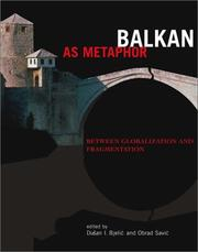 Cover of: Balkan as metaphor |