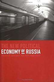 Cover of: The New Political Economy of Russia | Erik Berglöf