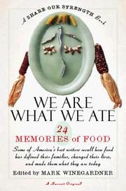 Cover of: We Are What We Ate