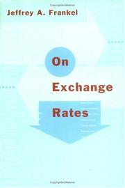 Cover of: On exchange rates