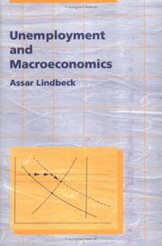 Cover of: Unemployment and macroeconomics