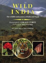 Cover of: Wild India
