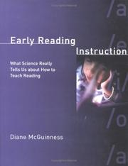 Cover of: Early Reading Instruction