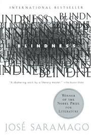 Cover of: Blindness (Harvest Book)