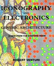 Cover of: Iconography and electronics upon a generic architecture