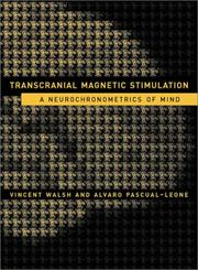 Cover of: Transcranial magnetic stimulation |