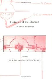 Cover of: Histories of the Electron |