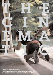 Cover of: The Cinematic (Documents of Contemporary Art) | David Campany