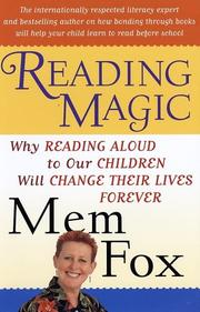 Cover of: Reading Magic | Mem Fox