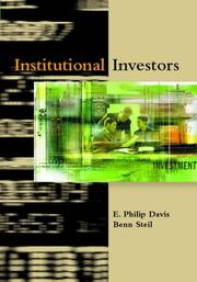 Cover of: Institutional Investors