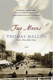 Cover of: Two moons: a novel