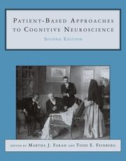 Cover of: Patient-based approaches to cognitive neuroscience |