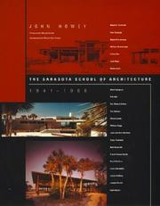 Cover of: The Sarasota school of architecture 1941-1966