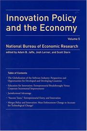 Cover of: Innovation Policy and the Economy |
